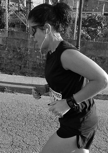 empece a correr