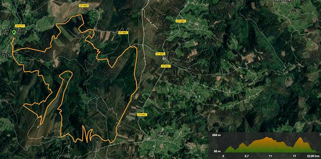 Trail Montes de Couzadoiro