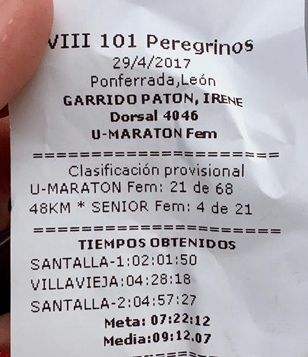 101 Peregrinos