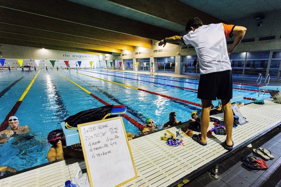 Tecnica de natación